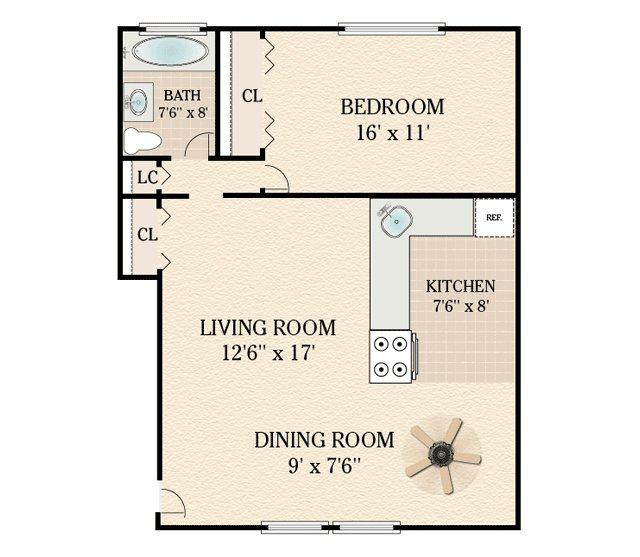Danhert Park Apartments For Rent In Garfield, NJ